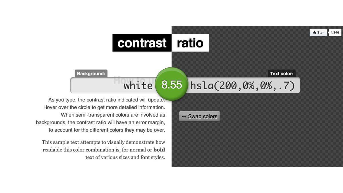 Color Contrast Tools | UXPRO