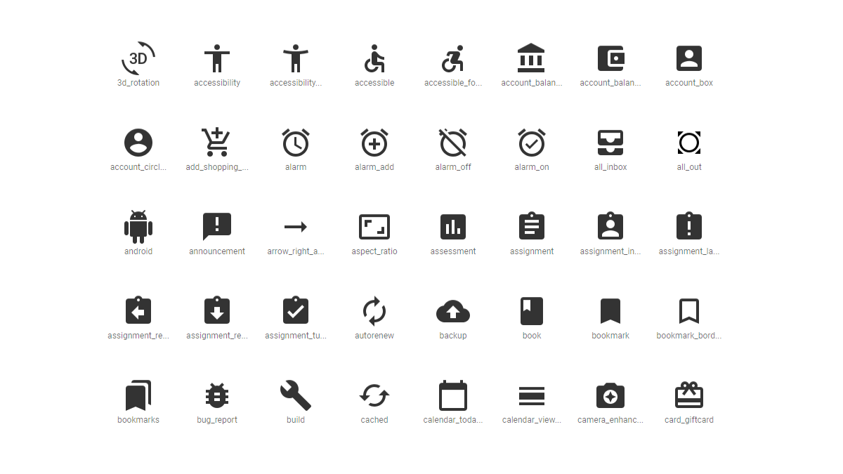 Icons | UXPRO