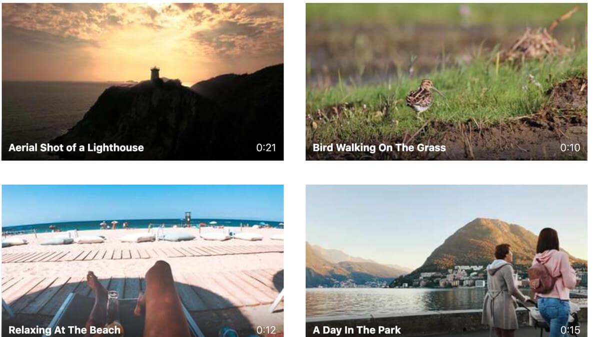 Pexels Videos | UXPRO